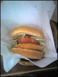 ホットチキンバーガー